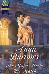 Major Meets His Match (Mills & Boon Historical) (Brides for Bachelors, Book 1) af Annie Burrows