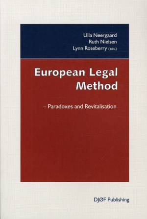 European Legal Method af Ruth Nielsen