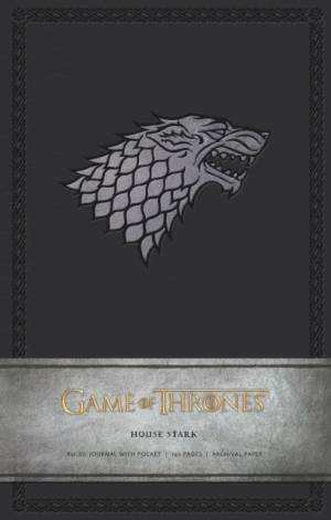 Game of Thrones: House Stark Hardcover Ruled Journal af . HBO
